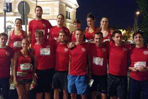 WSE futók újra megmérettették magukat Budapest leglátványosabb éjszakai futóversenyén