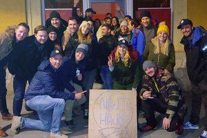 Téli Nájt Hájk: 255-en a téli budapesti éjszakában
