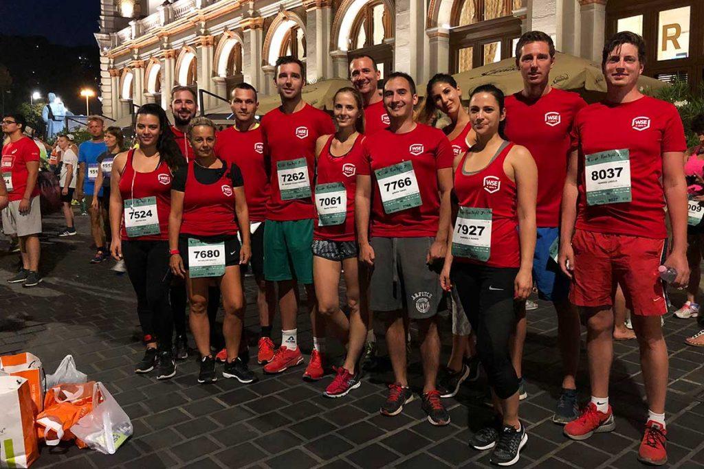 Generali Night Run Budapest 2018 csoportkép