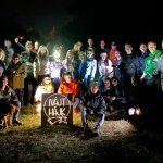 160 induló az első Nájt Hájk éjszakai teljesítménysétán