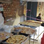 A séta után zsíros és margarinos kenyérrel jutalmaztuk meg a teljesítőket.